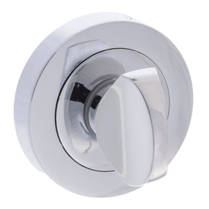 Atlantic Senza Pari WC Turn and Release on Round Rose - Polished Chrome - SPMWCCP - Choice Handles