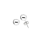 Sterling Silver .925 7MM Hollow Ball Studs