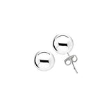 Sterling Silver .925 8MM Hollow Ball Studs