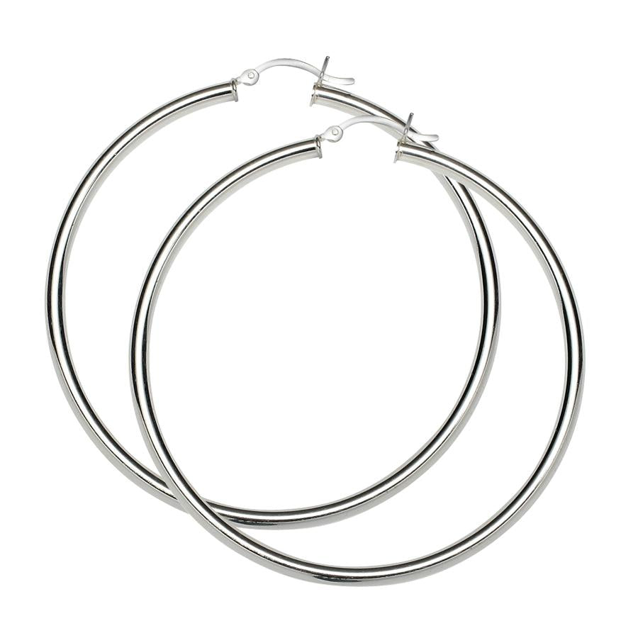Sterling Silver .925 3MM Hoops