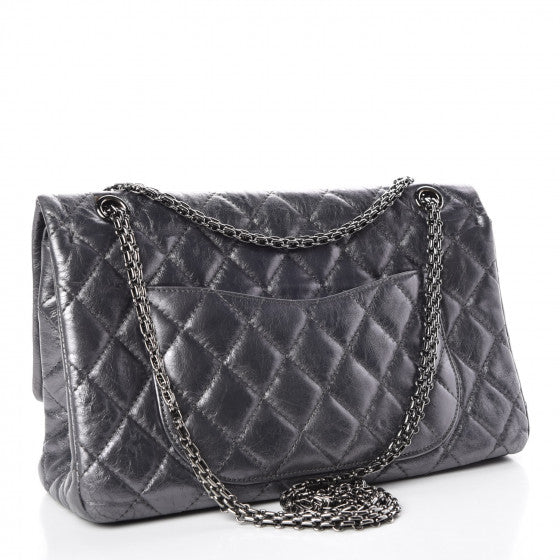 Chanel 2.55  Reissue  Classic 227 Flap Silver