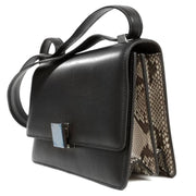 Celine Box Bag East West Python- LECLASSIQUE
