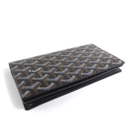 Goyard Wallet Monogram Long Black - LECLASSIQUE