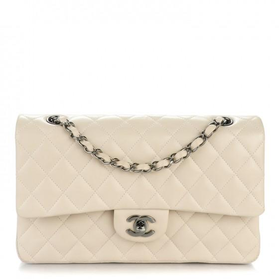 CHANEL Lambskin Quilted Flap Bag Medium Classic - LECLASSIQUE