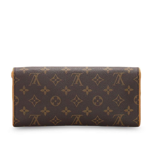 LOUIS VUITTON Pochette Twin monogram shoulder bag - LECLASSIQUE