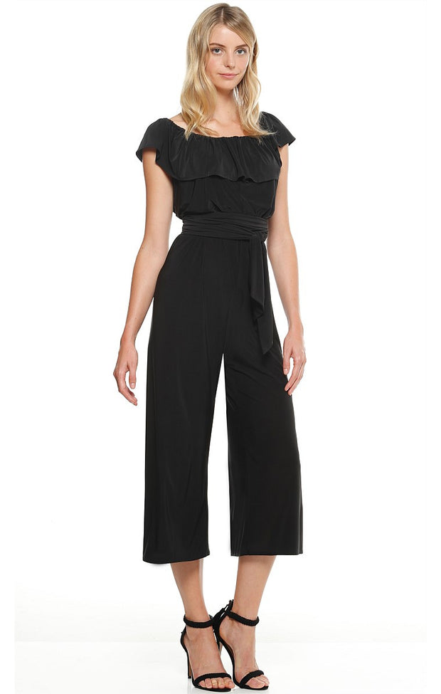 Jumpsuit - Black Iris by Sacha Drake