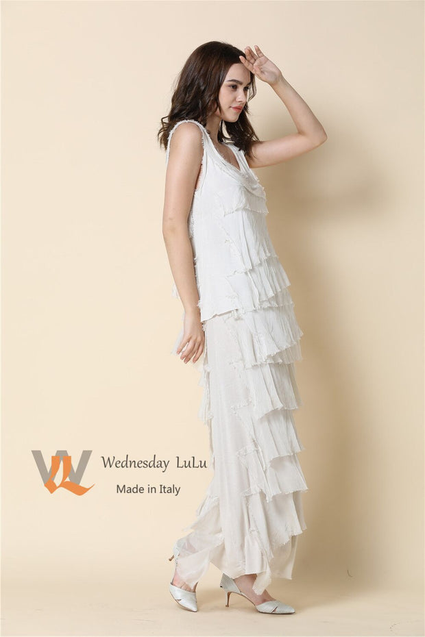 Dress - Italian Silk Drape