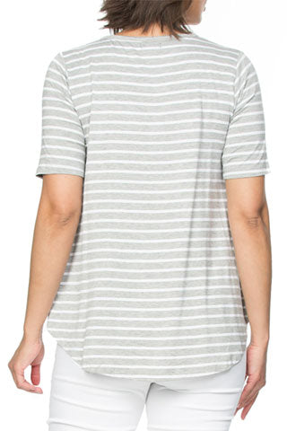 Top - Stripe Star Tee by Threadz