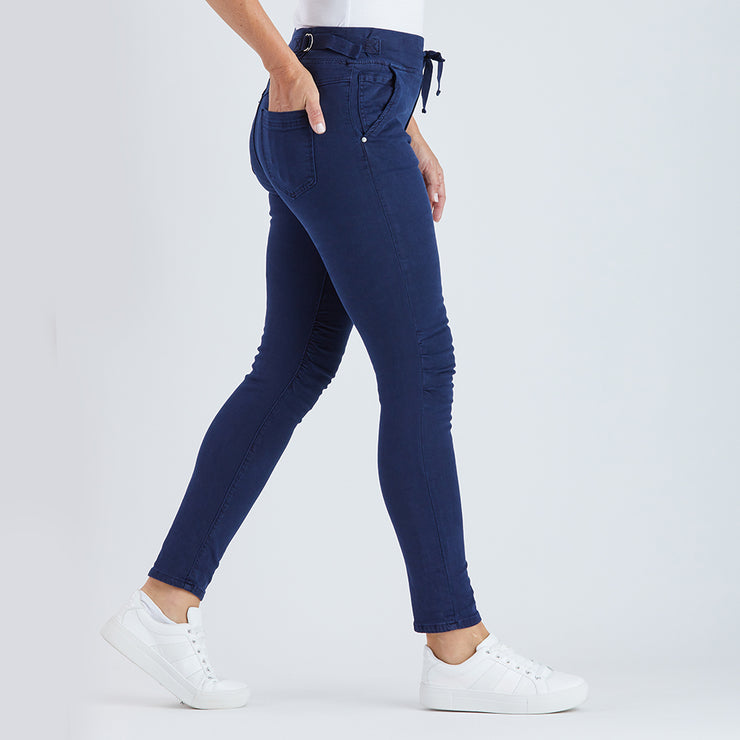 Pant - Tie Front Gathered Jean