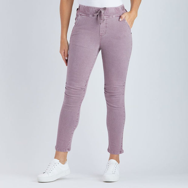 Pant - Tie Front Gathered Jogger