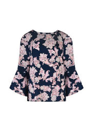 Top - Winters Dawn Paisley Blouse