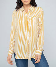 Top - Stripe tunic Shirt by JUMP