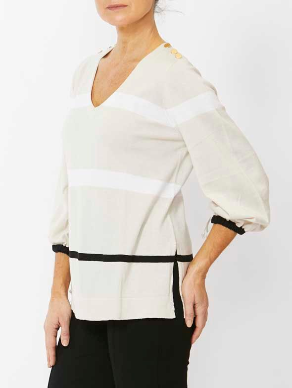 Jumper - Stripe Pullover by PingPong