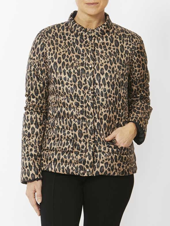 Jacket - Animal Print Puffer by PINGPONG