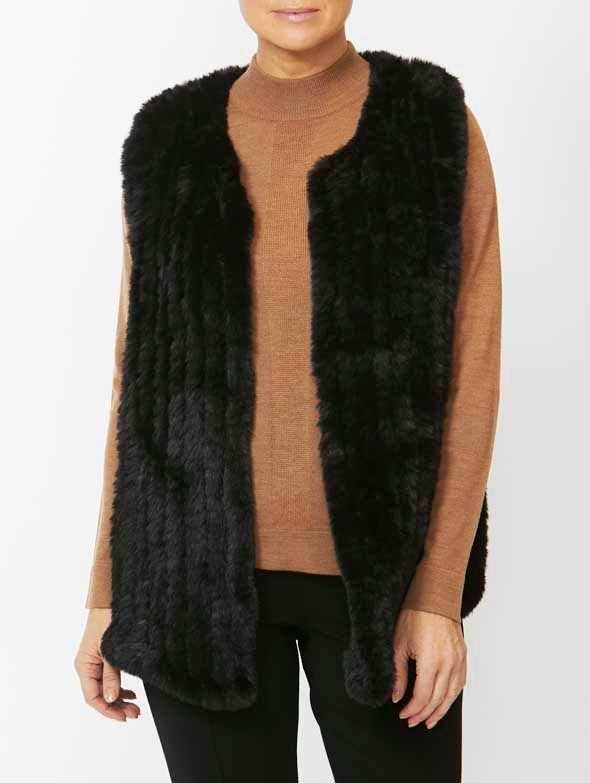 Vest - Faux Fur by PingPong