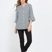 Top - Gingham Check Shirt