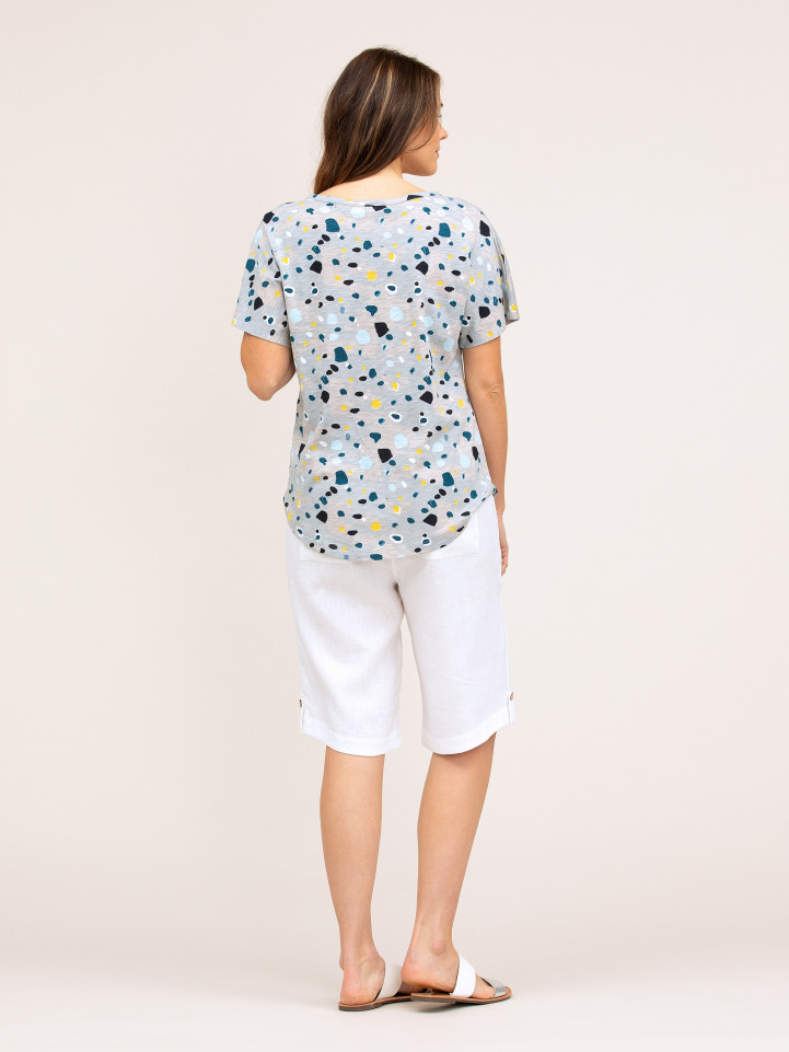 Top - Quartz Print Tee by Yarra Trail