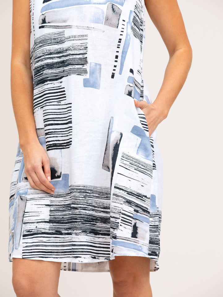 Dress - Retrographic by Yarra Trail