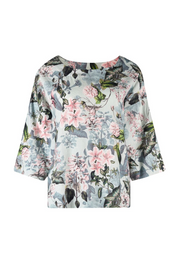 Top - Gatsby Floral Boat Neck by JUMP