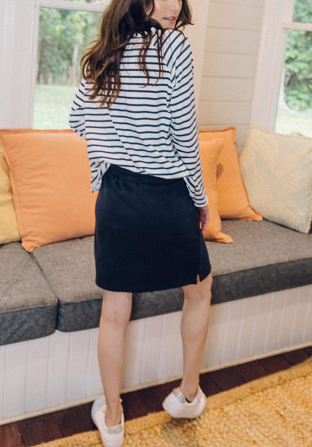 Skirt - 100% Cotton Casual Stretch