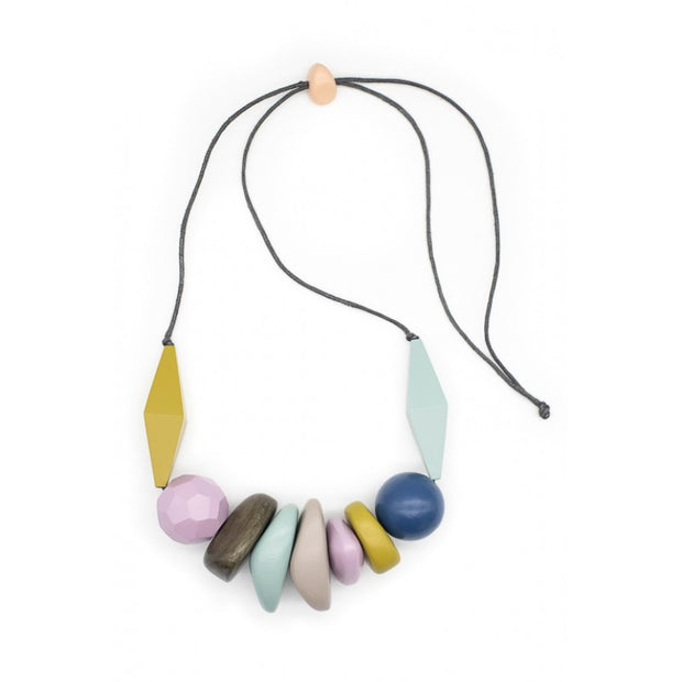 Necklace - Sky Multi Timber Combo