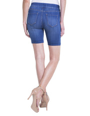 Jeans Short - Pull on Short in Coronado by Liverpool Jeans