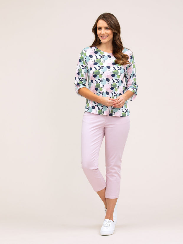 Top - Orchard Print Tee