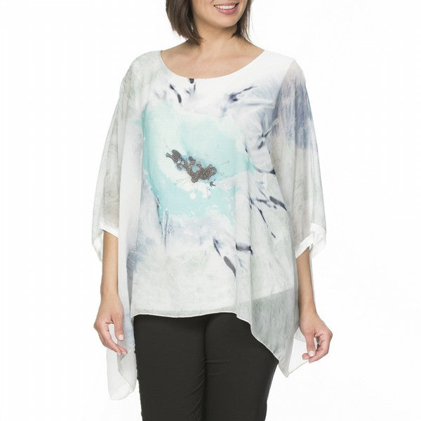 Top - Layer Print by Clarity