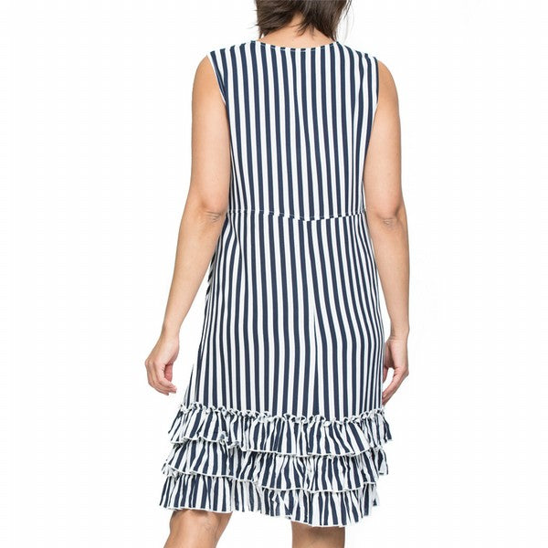 Dress - Ruffle Hem by Threadz