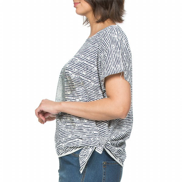 Top - Star Cotton Stripe by THREADZ