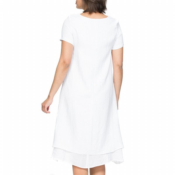 Dress - Layered White by Clarity