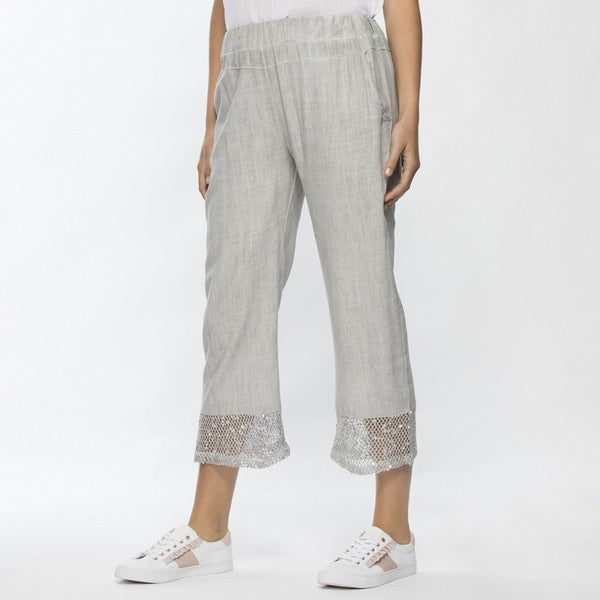 Pant - Lace Trim by Threadz