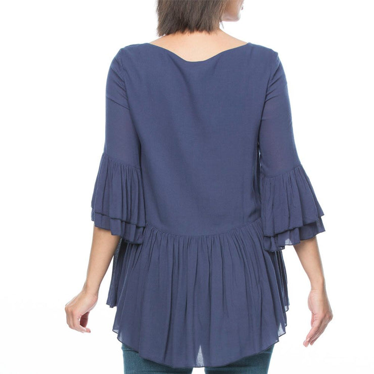 Top - Gathered Floaty by Threadz