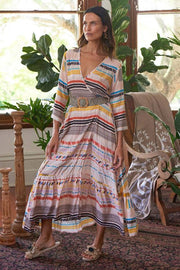 Dress - Kabul Print Maxi by Rubyyaya