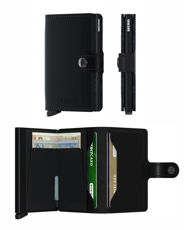 Wallet - Secrid Black Matte Mini