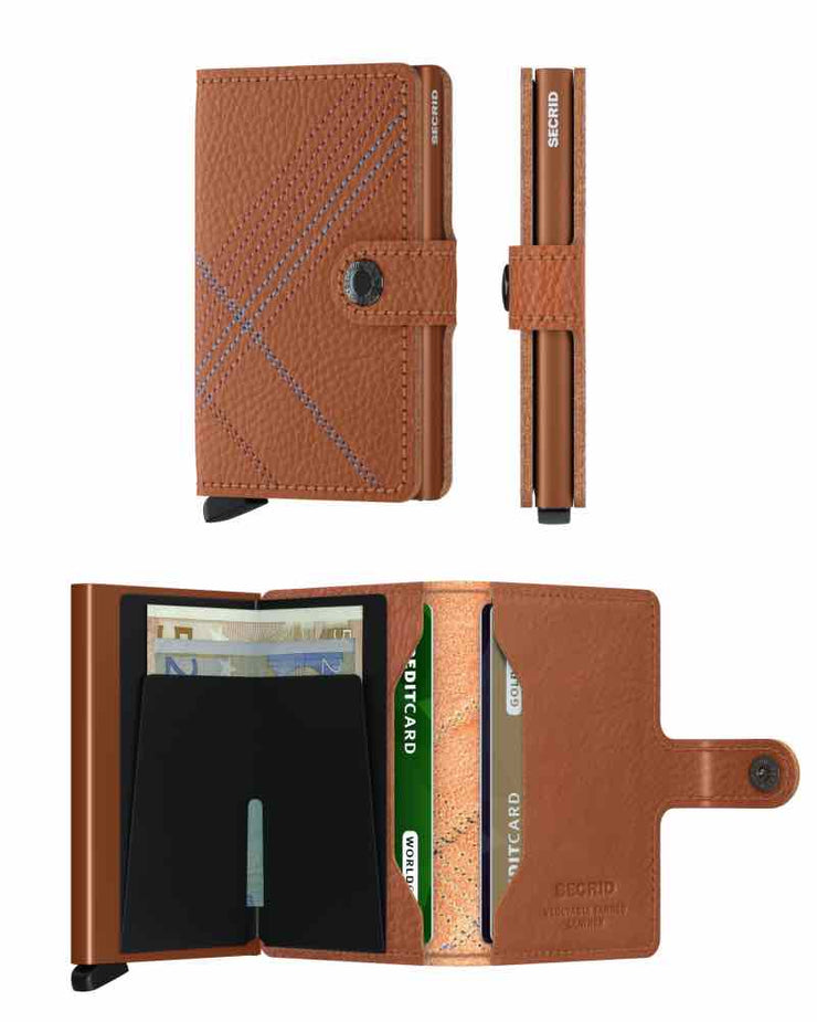 Wallet - Secrid Linea Carmello Stitch