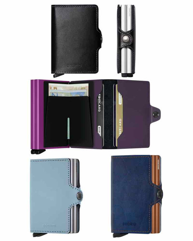Wallets - Secrid Indigo 5 Twin