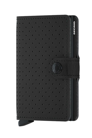 Wallet - Secrid Miniwallet Perforated Black
