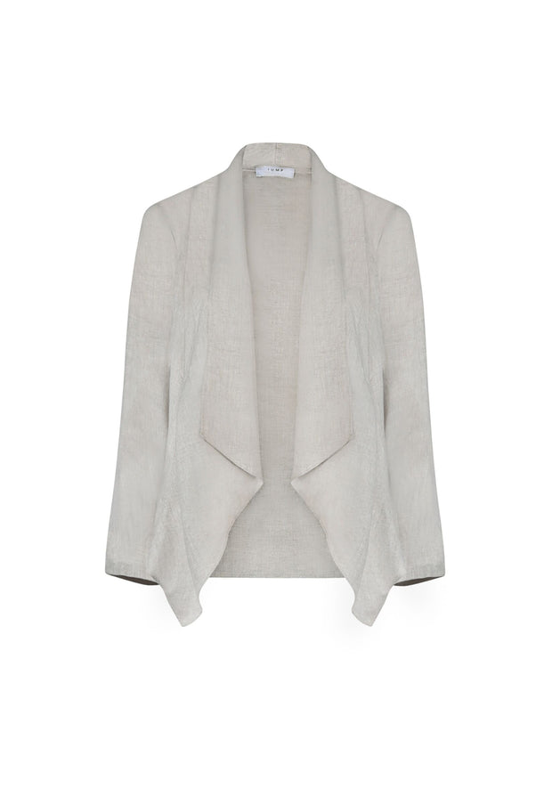 Jacket - Waterfall Linen by JUMP