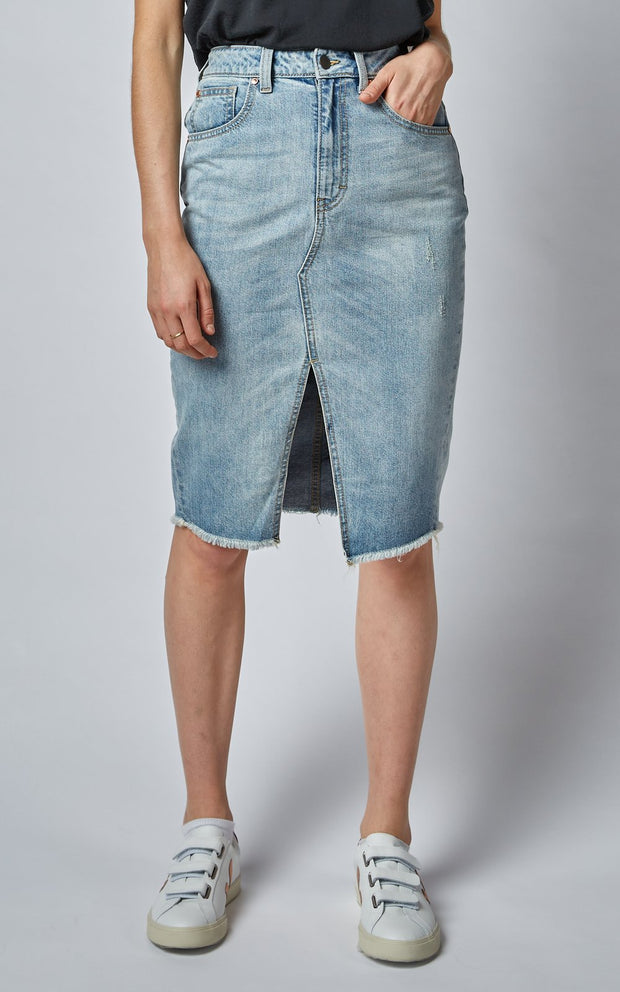 Skirt - High Revival Denim Skirt