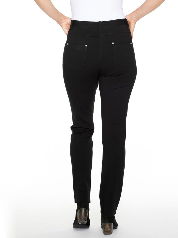 Pants - Black Super Stretch Jean by Yarra Trail