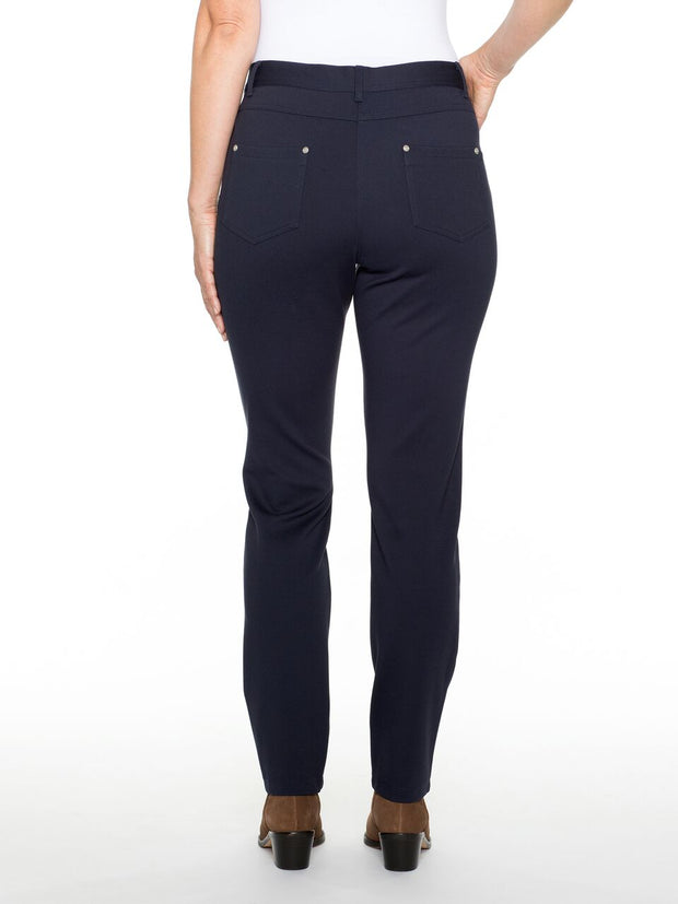 Pant - Navy Super Stretch Jean by Yarra Trail