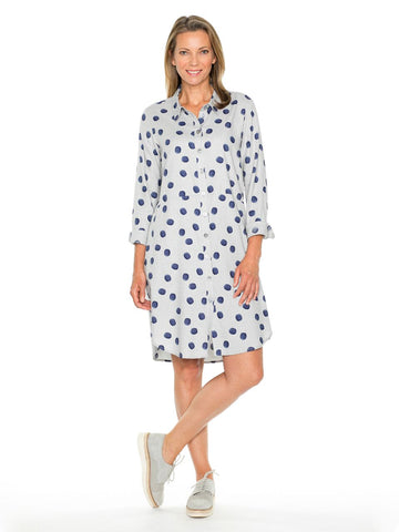 Tunic - Aster Painted Spot Shirt