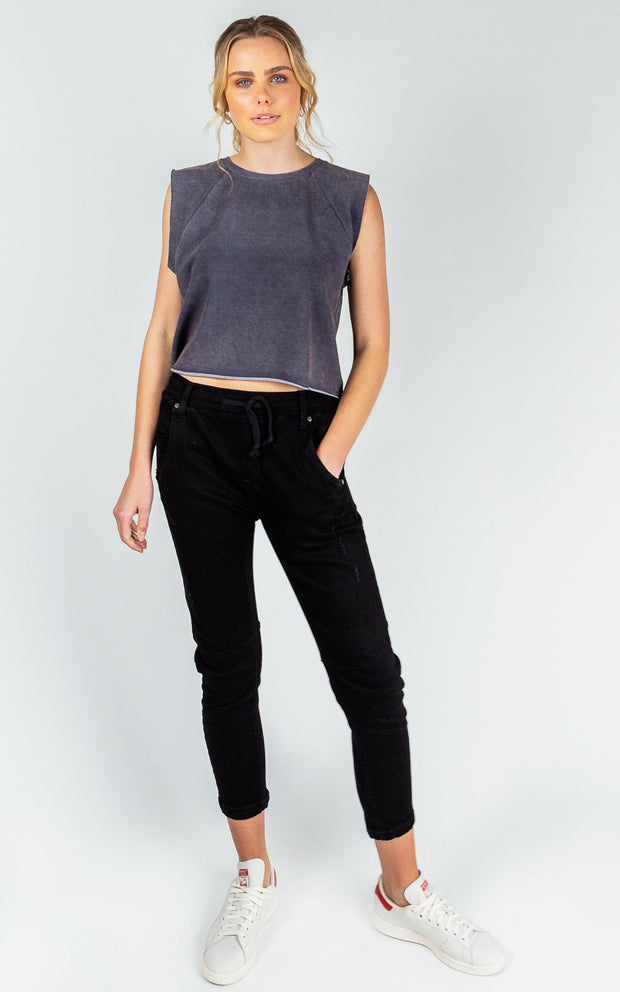 Pant - Active Black Jean by Dricoper