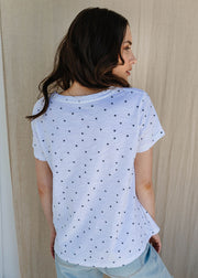 Top - 100% Cotton Star Tee