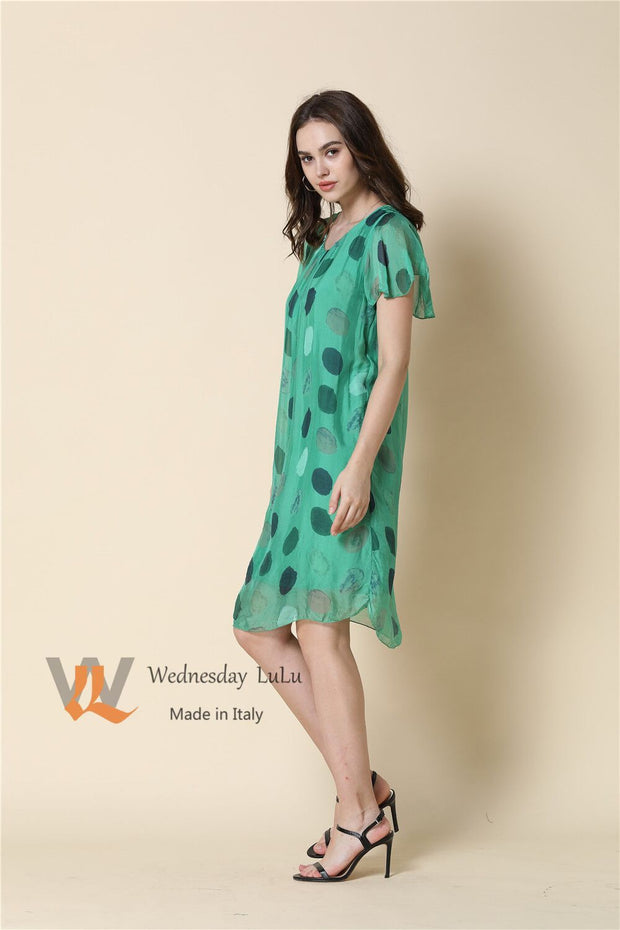 Dress - Italian Swing Silk