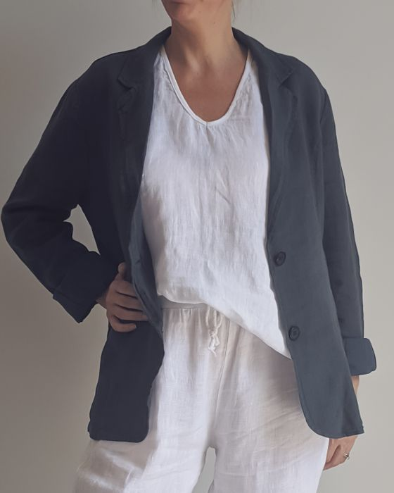Jacket - Audrey Italian Linen Tailored