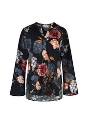 Top - Hydrangea Haven Blouse