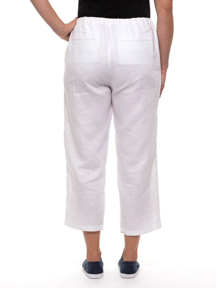 Pant - White Washer Linen by Yarra Trail