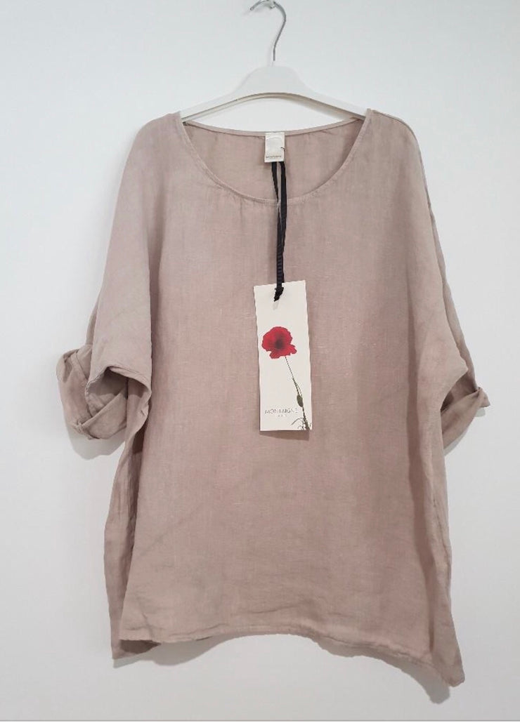 Top - Montaigne Paris Italian Linen